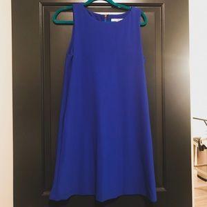 Boston Proper Blue Sleeveless Dress